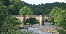 The bridge over the River Swale